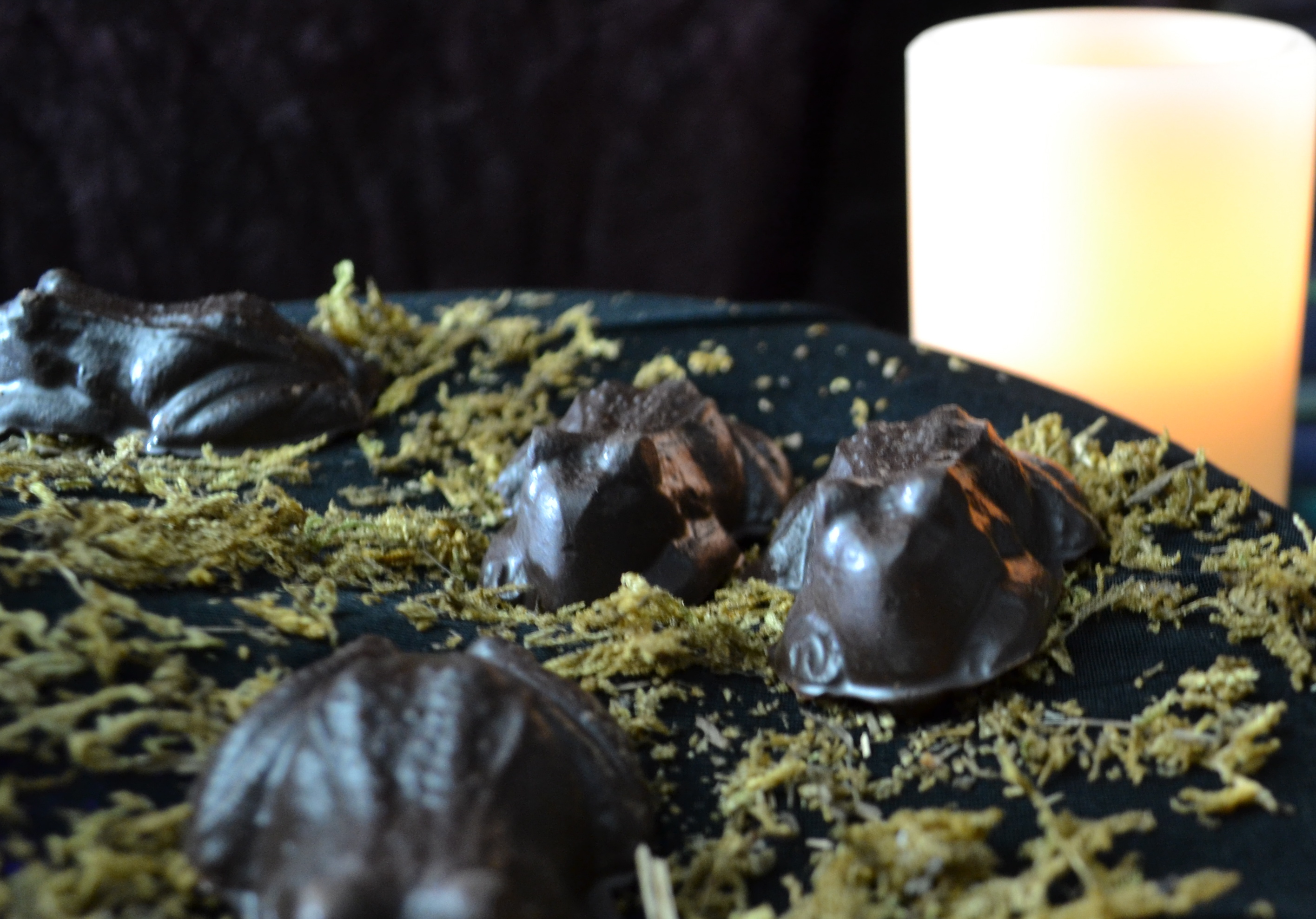 Boo Mama Genny: Harry Potter Chocolate Frogs Stuffed with Cookie ...