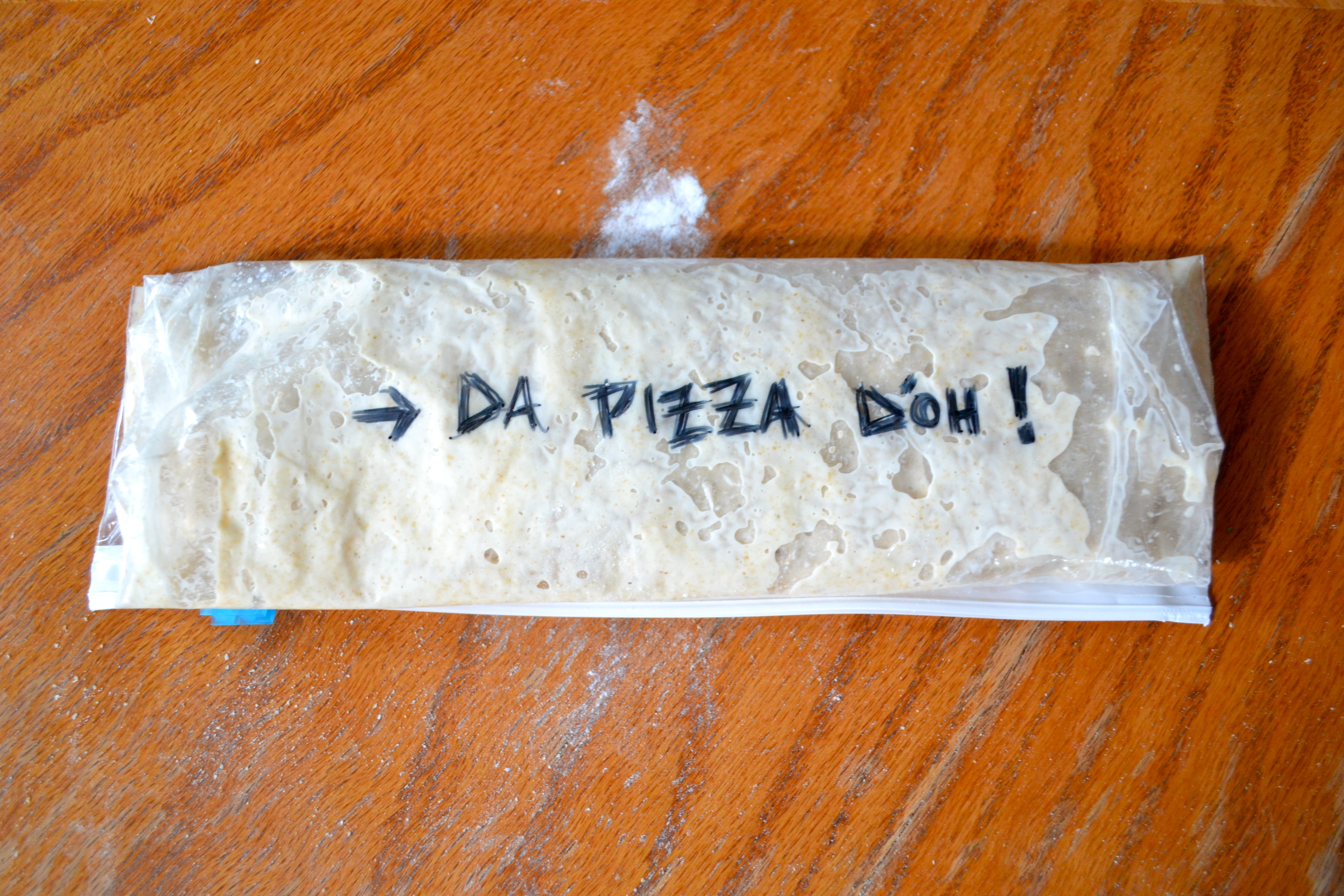 No-Dirty-Dishes, No-Knead, Two-Minute, Make-Ahead Pizza Dough, or ...